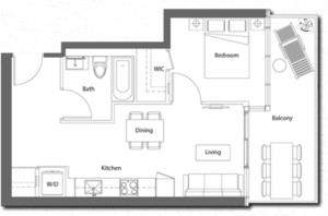 Suite 15 Floorplan 1