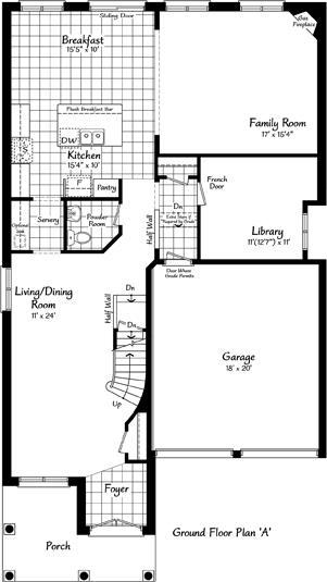 The Providence 17 Floorplan 1