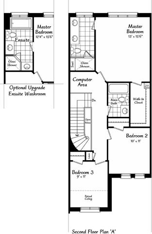The Belevedere 3 Floorplan 2