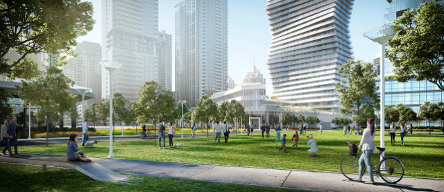 M City in Mississauga by Rogers Real Estate Development Limited and Urban Capital