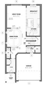 The Hampton 34 IV A Floorplan 1