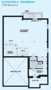 Blue Ash A Floorplan 3