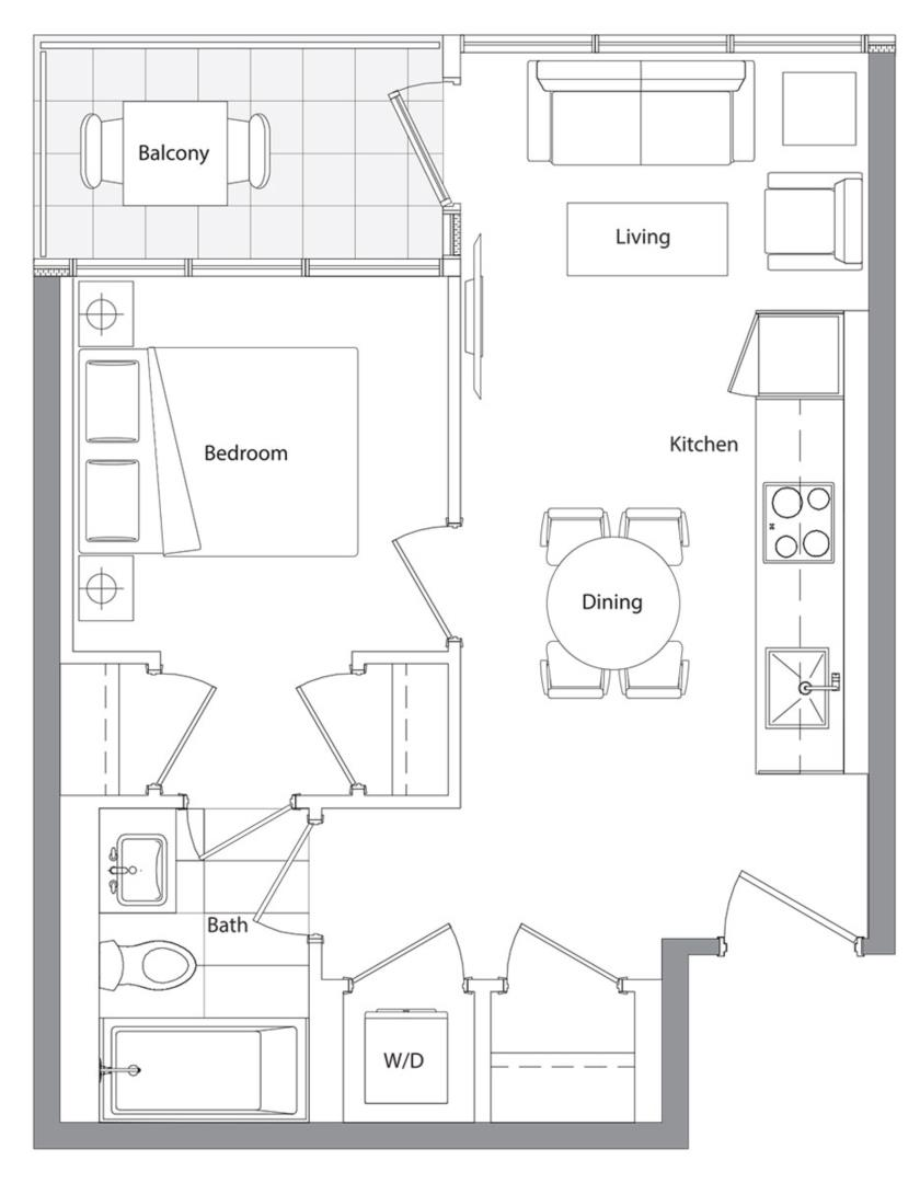 Lower Typical (East Tower) 01 Floorplan 1