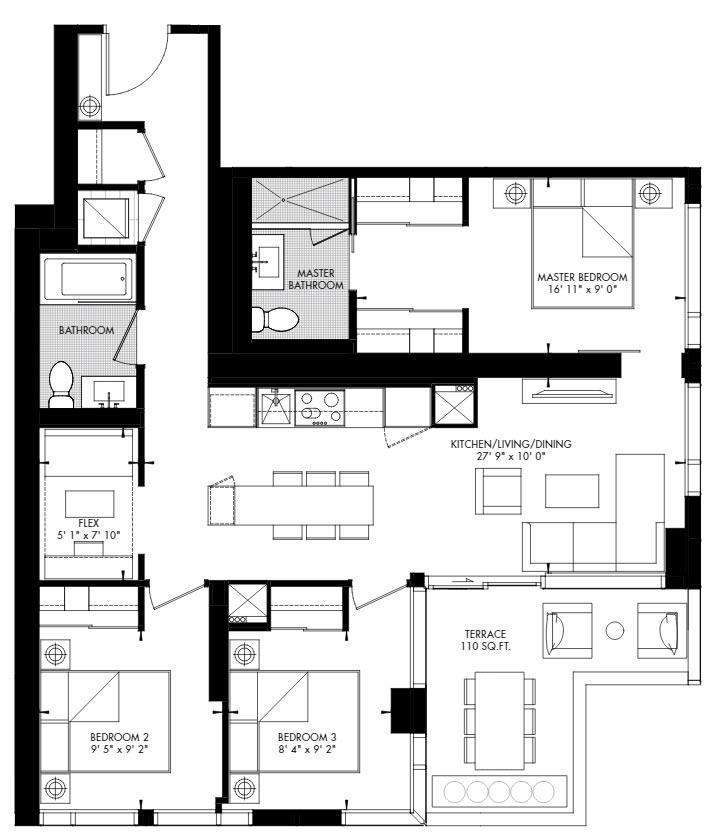 Yorkville 67 Floorplan 1