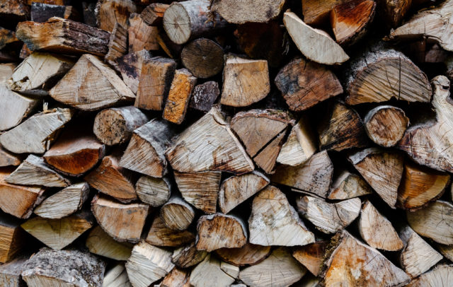 Make room for firewood this winter