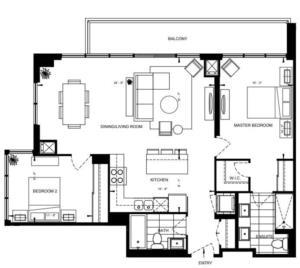 2B-E Floorplan 1