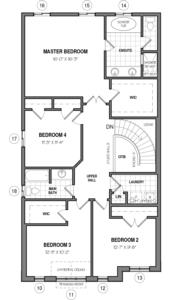 The Brockton 34 IV B Floorplan 2