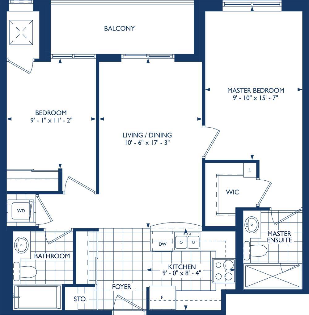 The Sinclair Floorplan 1