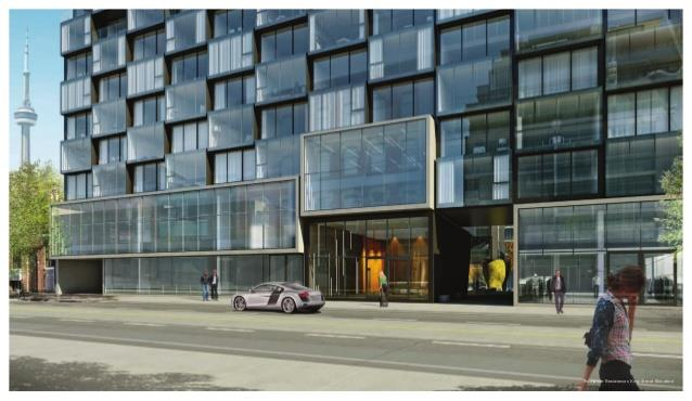 Thompson Residences Toronto Freed Developments