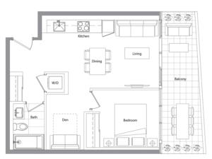 Podium 805 Floorplan 1