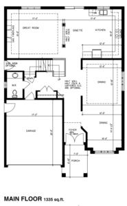 The Montana Floorplan 1