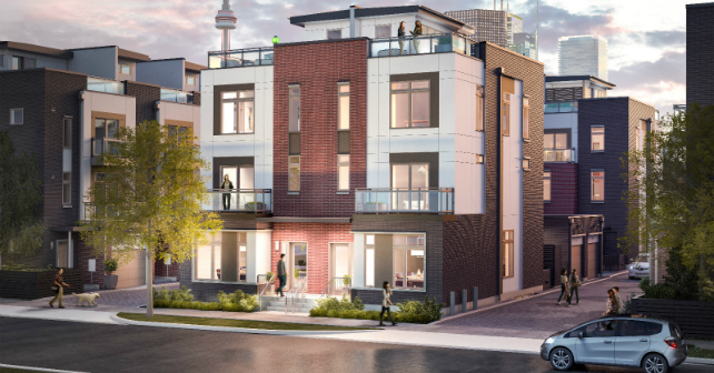 The Sutton Collection is the first luxury option in Regent Park Image