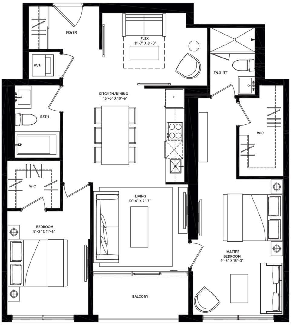 New York Podium Floorplan 1