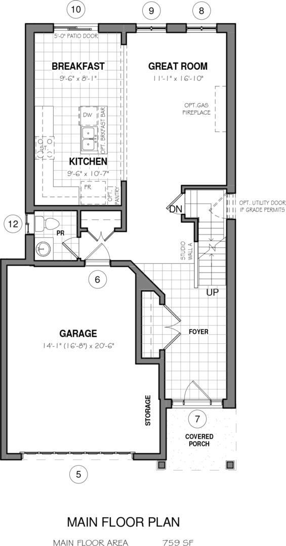 The Malibu II A Custom Floorplan 1