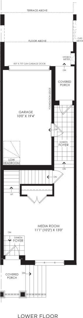 BLOCK 4, ELEV. B2 REV, UNIT 3 Floorplan 1
