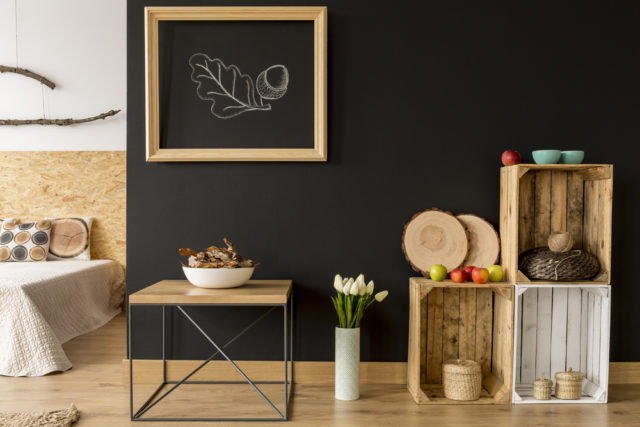 Embrace the fall vibe with wooden crates