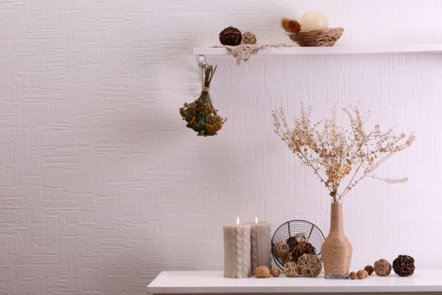 Embrace the fall vibe with dried flowers