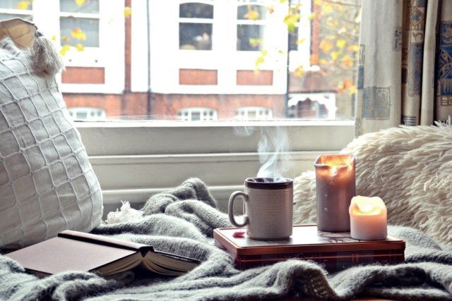 Embrace the fall vibe with faux furs and heavy blankets
