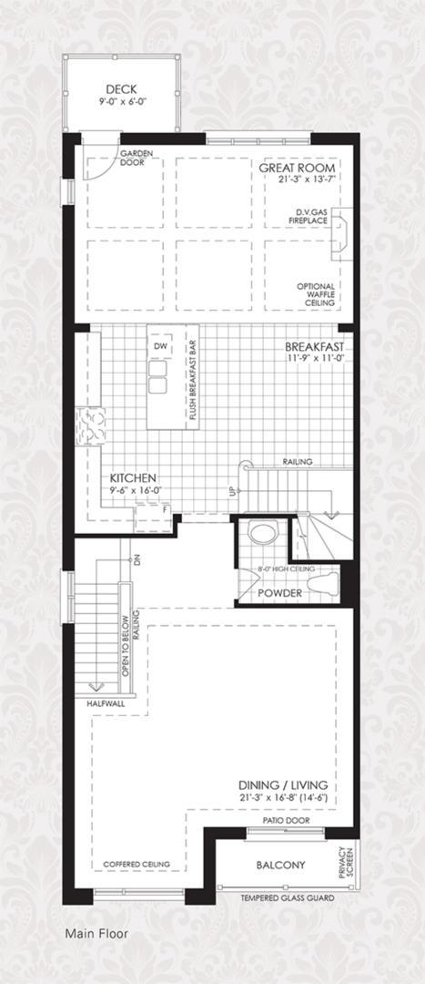 The Cornell Collection - The Cornell 2 Floorplan 1