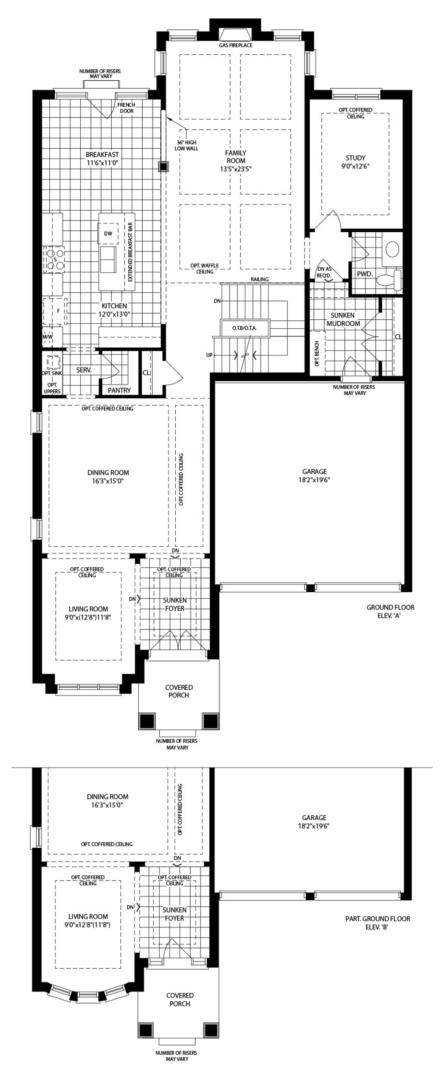 Vanderbilt (B) Floorplan 1