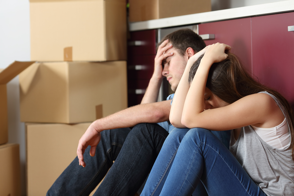 How to deal with moving back home Image