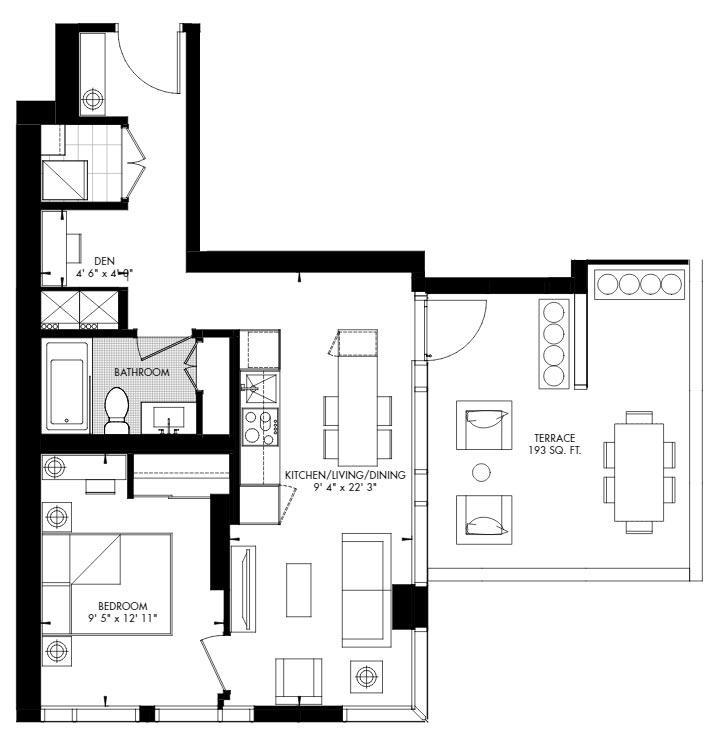 Yorkville 53 Floorplan 1