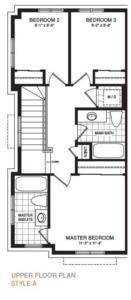 The Moncton Corner Floorplan 3