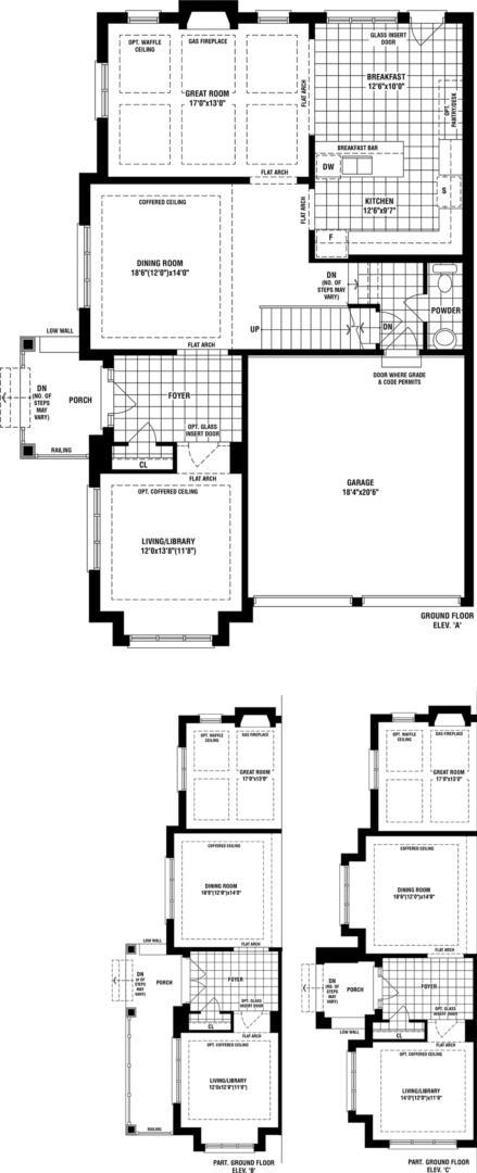 Trent Floorplan 1
