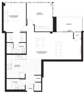 Hyde Park Floorplan 1