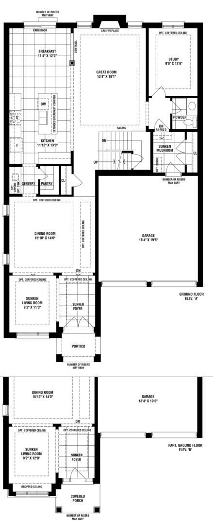 Highland Creek Floorplan 1