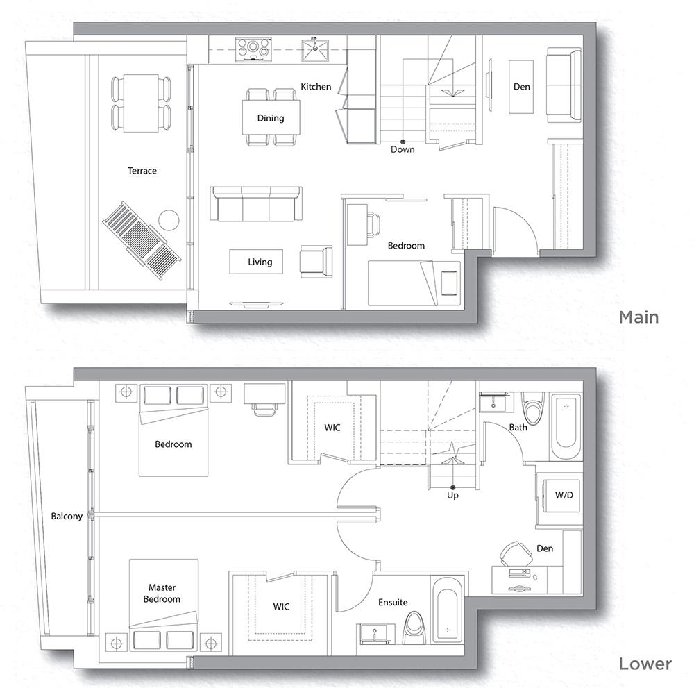 Villa 607 Floorplan 1