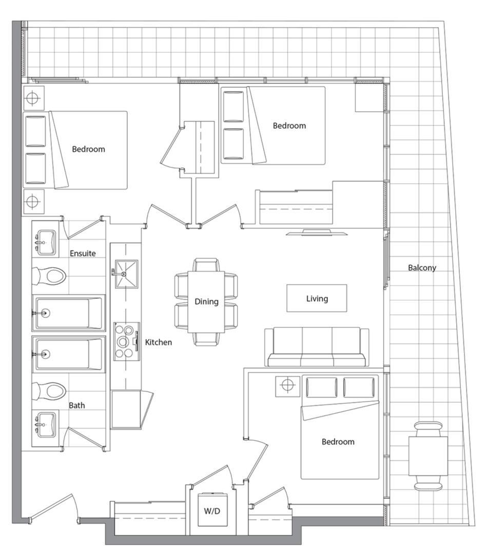 Podium 803 Floorplan 1