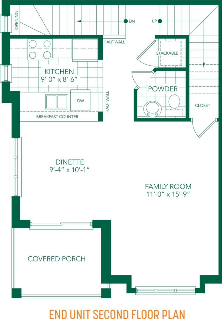 The Tulip Floorplan 6