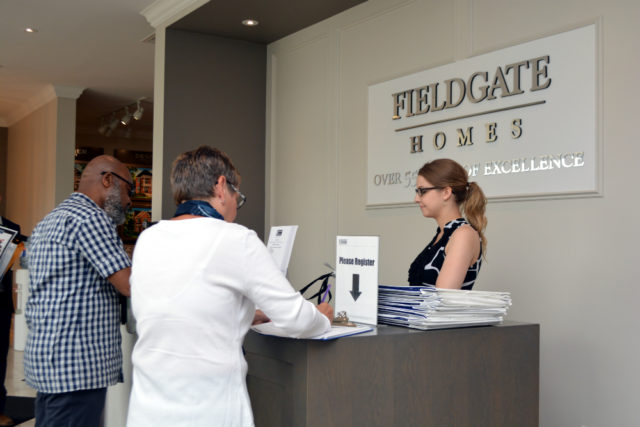 Impressions in Kleinburg, the Fieldgate Homes sales centre