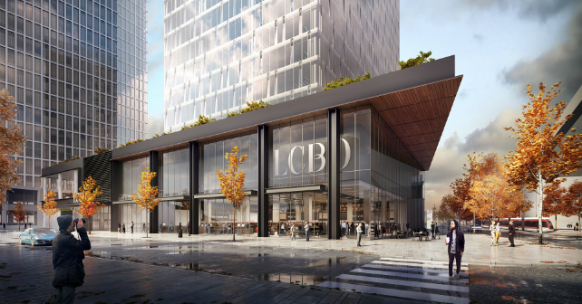 Menkes, Greystone, and Triovest present big plans for the LCBO site in Toronto Image