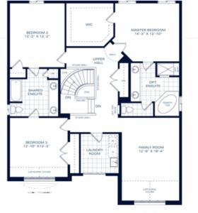 The Medallion II B Floorplan 1