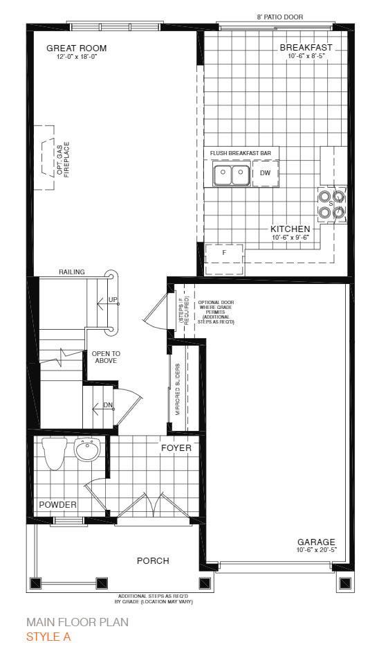 Calm Floorplan 1