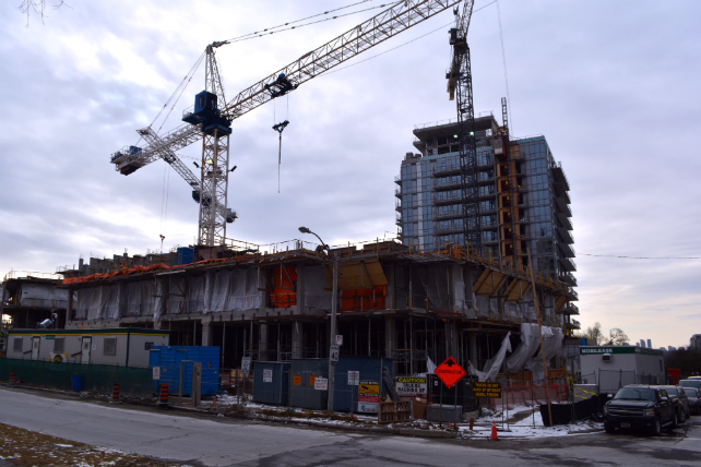 Emerald City construction is on schedule and there's a new condo coming soon! Image