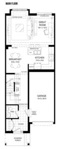 The Escape Floorplan 1