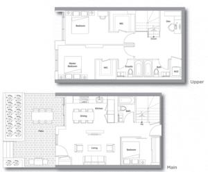 Villa 205 Floorplan 1
