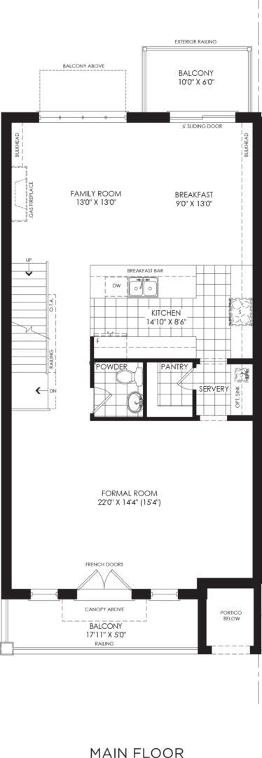 BLOCK 15, ELEV. A2, UNIT 1 Floorplan 2