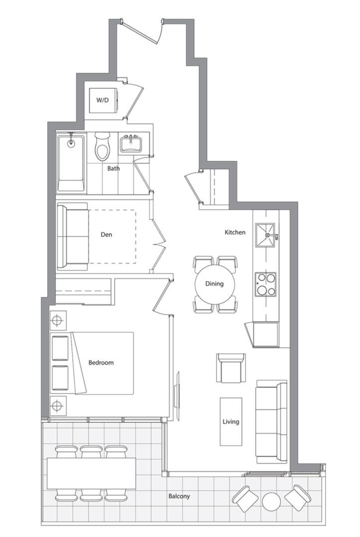 Lower Typical (East Tower) 06 Floorplan 1