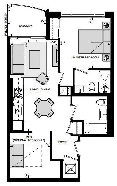 Suite AR Floorplan 1