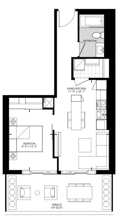 Yorkville 51 Floorplan 1