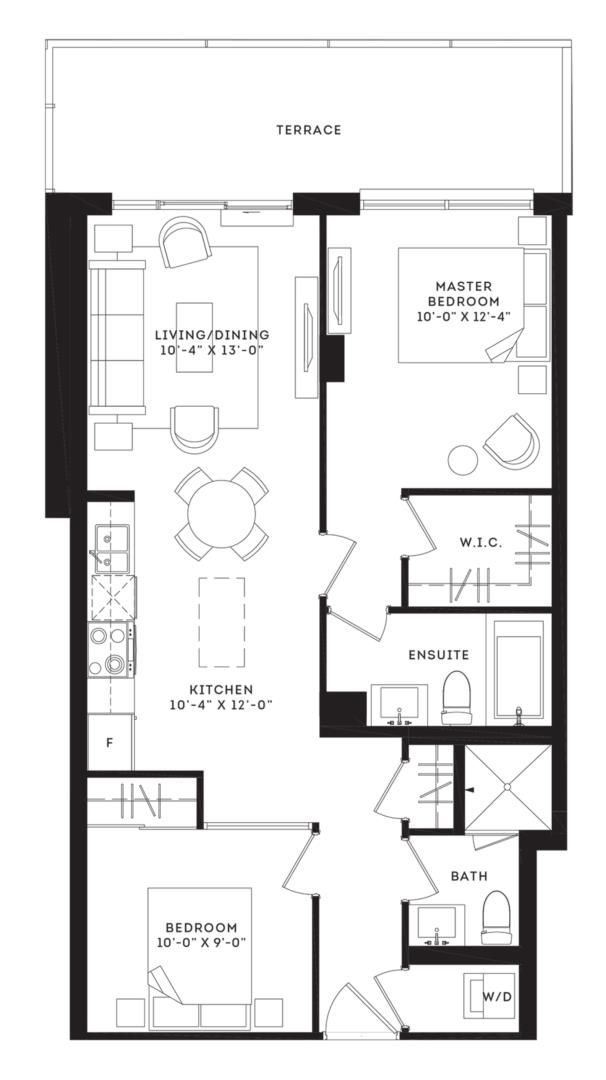 The Wythe Floorplan 1
