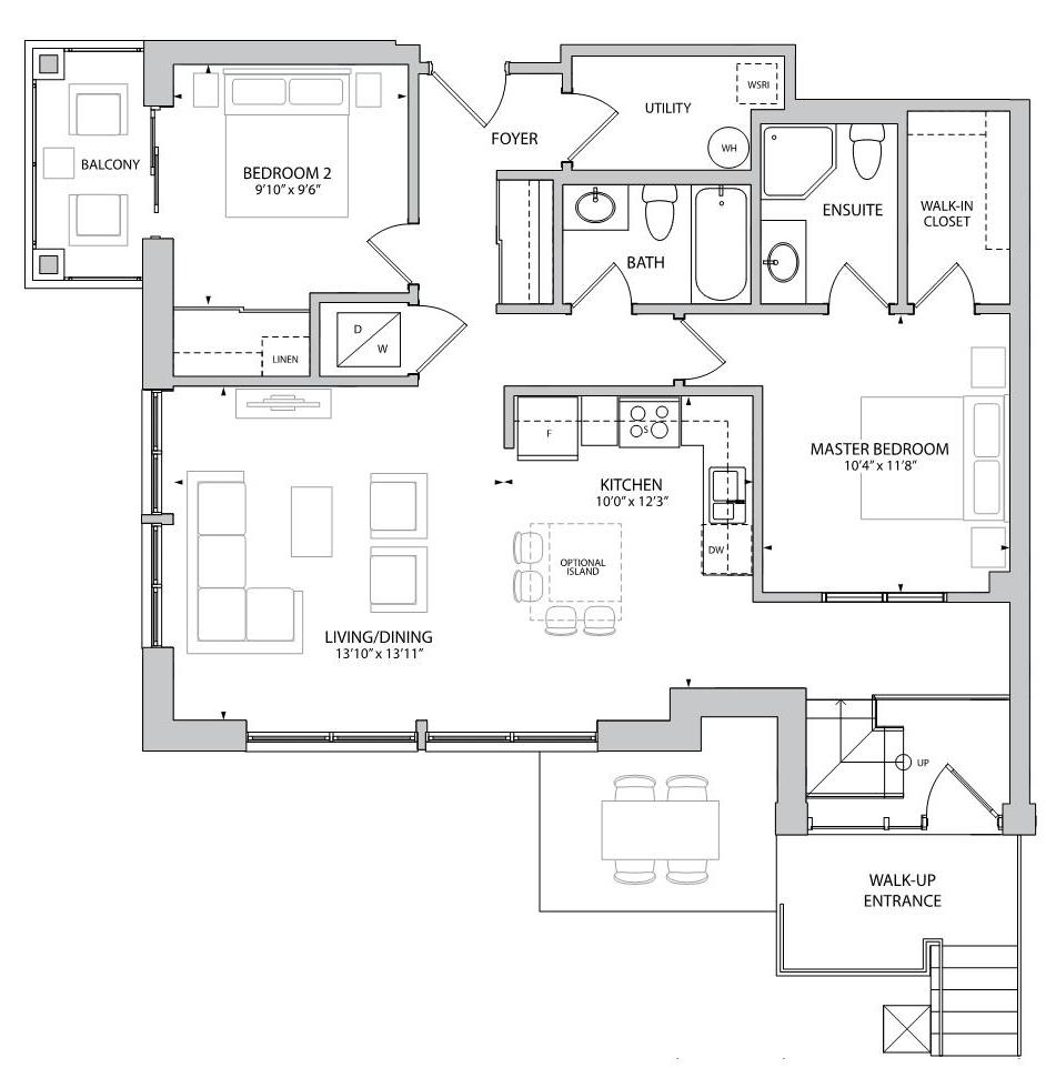 The Ashford Floorplan 1