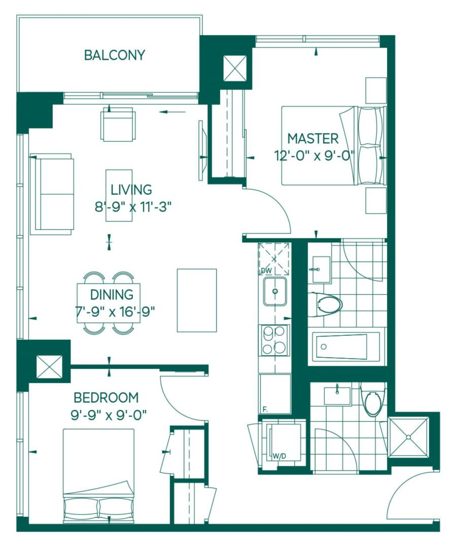 Park Collection - Pico Floorplan 1