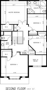 The Morning Glory Floorplan 2