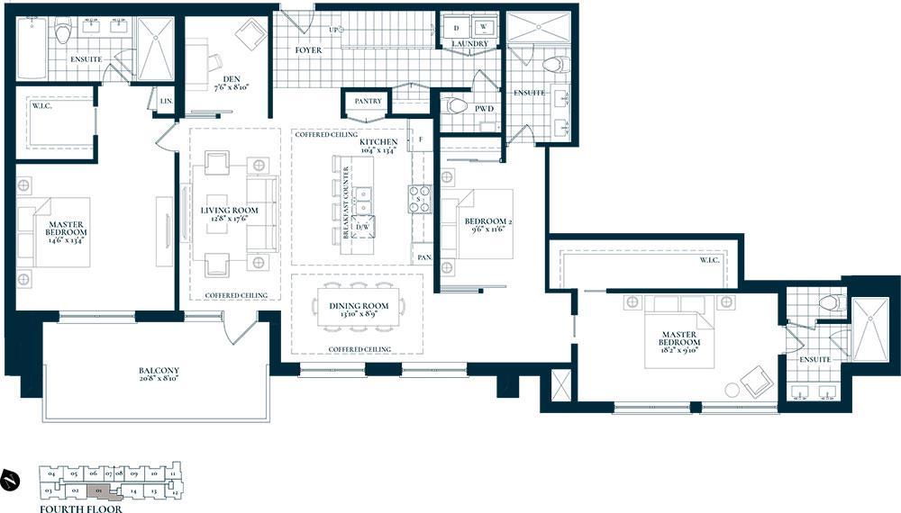 Heritage Floorplan 1