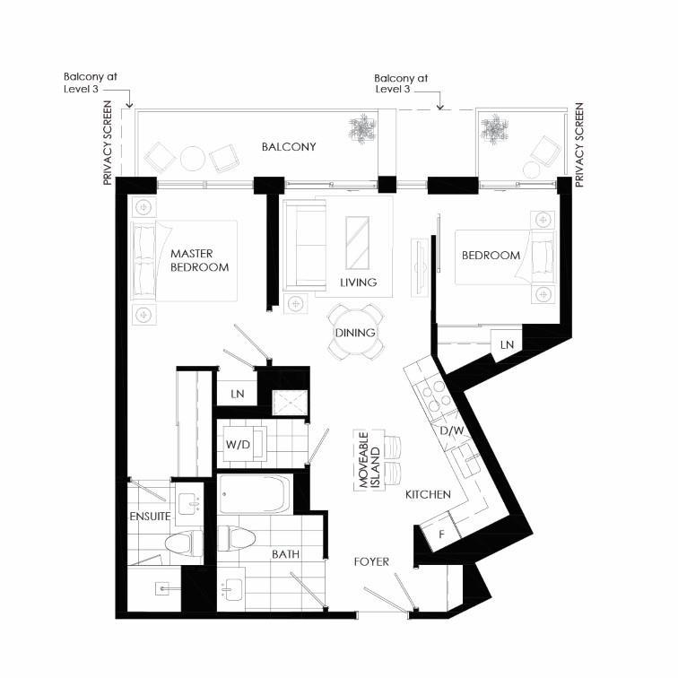 Buffet 720A Floorplan 1